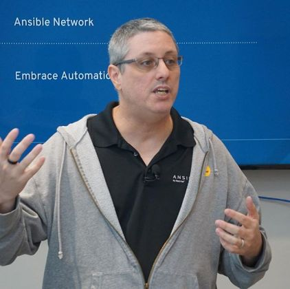 Peter-Sprygada-presents-Ansible-for-Red-Hat-at-Networking-Field-Day-NFD18